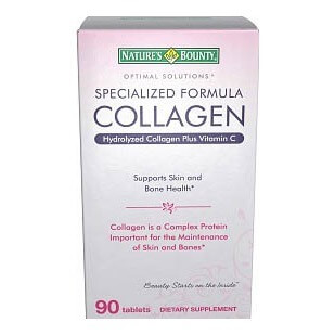 Nature's Bounty Hydrolyzed Collagen,  90 tablet(s)  Unflavoured