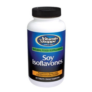 The Vitamin Shoppe Soy Isoflavones,  120 tablet(s)