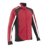 Kipsta Outdoor 500 High Collar Jacket,  Red/Black  Small (EU35-36)