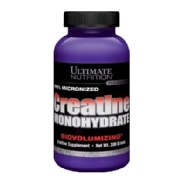 Ultimate Nutrition Creatine Monohydrate,  Unflavored  300 G