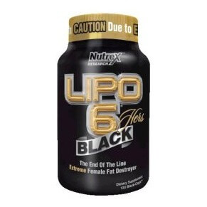 Nutrex Lipo 6 Black Hers,  120 capsules  Unflavoured