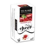 TE-A-ME Cranberry Apple,  25 Piece(s)/pack  Fruit