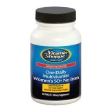 The Vitamin Shoppe One Daily Women's 50+ No Iron,  Unflavoured  60 Tablet(s)