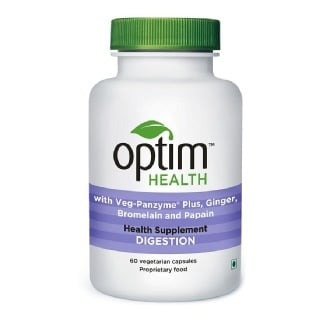 OptimHealth Digestion Health Supplement,  60 capsules