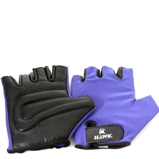 Hawk Classic Gym Gloves,  Blue & Black  Small