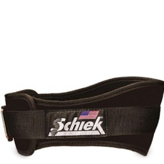 Schiek Workout Belt,  Black  Small