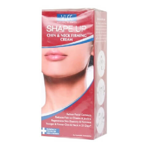 VLCC Shape Up Chin & Neck Firming Cream,  100 ml  Body Shaping